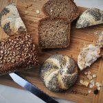 Gemischtes Brot mit Griebenschmalz